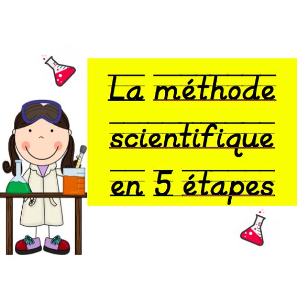 La méthode scientifique: 5 étapes