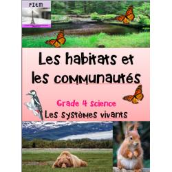 Les habitats et systèmes vivants, Science4