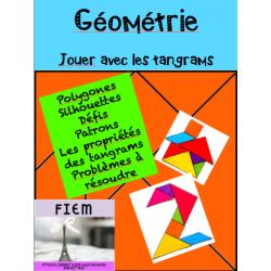 "Géométrie, ""Les Tangrams"", polygones"