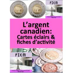 """""""L'argent canadien"""", Math 1&2"""