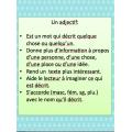 """""""Les adjectifs: Phrases élastiques"""""""