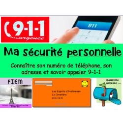 911, Sécurité personnelle, Grade 1&2