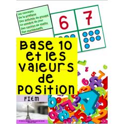 Valeurs de position & Base 10, Math, Grade2