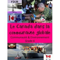 Le Canada dans la communauté globale