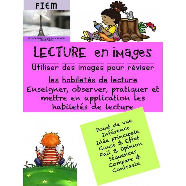 """""""La lecture en images"""" Activités"""