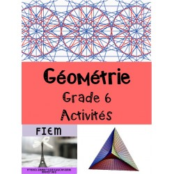 Géométrie: Evaluation, Grade 6
