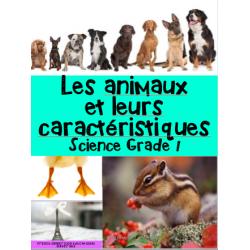 Les animaux: caractéristiques/classification