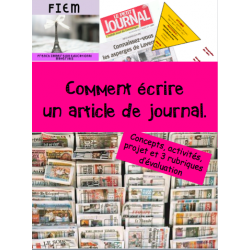 Comment écrire un article de journal