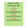 Comment écrire un article de journal