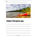 L'été: activités, cartes éclair, bricolage NO PREP