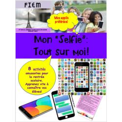 Mon Selfie: Tout sur moi #Selfie! 8 activités