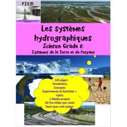Les systèmes hydrographiques, Science 8, 124 pages