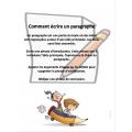 Comment écrire un paragraphe, activités+rubrique