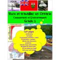 Vivre et travailler en Ontario, Grade 3