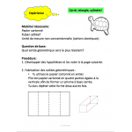 Les structures, Grade 3 Science, 121 fiches