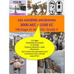 Les sociétés anciennes 3000BCE - 1500CE
