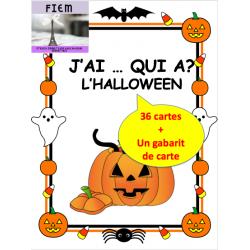 """Halloween: """"J'ai ... Qui a?"""", Jeu"""