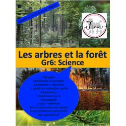 Les arbres et la forêt, Gr.6 Science