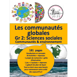 Les communautés globales, Gr2, 181 pages