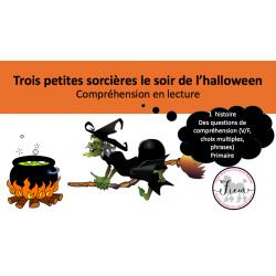 L'halloween et 3 sorcières, Lecture/questions, PR