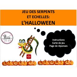 Halloween: Serpents et échelles, Jeu