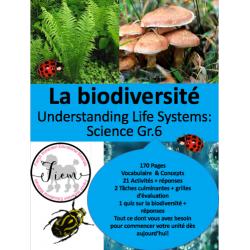 """""""La biodiversité"""" Science 6"""