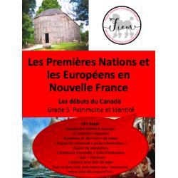 """Nouvelle France"", Grade 5"