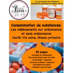 Les médicaments, Santé, Gr.2, 85 fiches