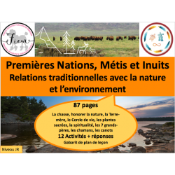 Premières nations: Terre & Nature, 87 fiches