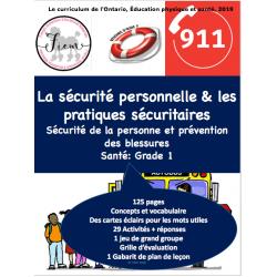 La sécurité personnelle, Santé, PR, 125 pages