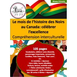 L'histoire des Noirs au Canada, PR, 105 pages