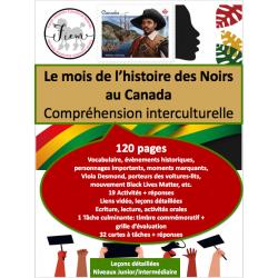 L'histoire des Noirs au Canada, JR/INT, 120 pp