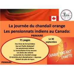La journée du chandail orange, PR, 71 pp