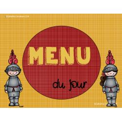menu du jour - chevalier