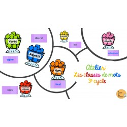 Atelier classes de mots (3e cycle)