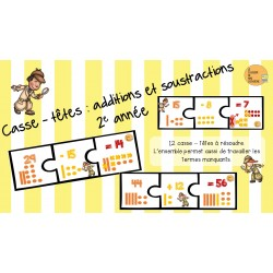 Casse-têtes - Additions et soustractions