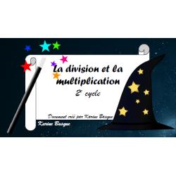 Cartes à tâches - Division et multiplication