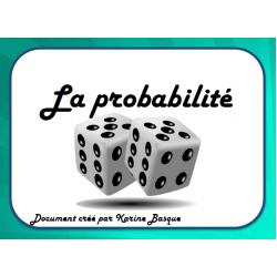 Cartes à tâches - Probabilité