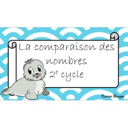 Cartes à tâches - La comparaison de nombres
