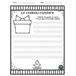 Le cadeau mystère - Situation d'écriture