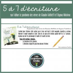 5 à 7 d'écriture - Le jardinier des rêves