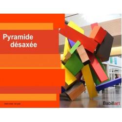 Pyramide désaxée
