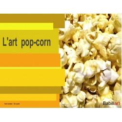L'art pop-corn