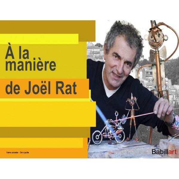 Chat à la manière de Joël Rat
