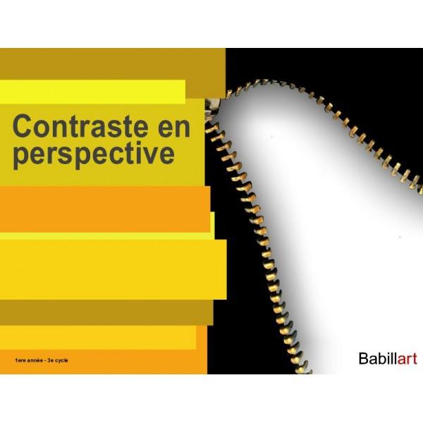Contraste en perspective