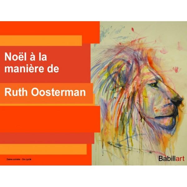 Noël à la manière de Ruth Oosterman