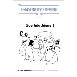 carnets de Religion P1->P4 Janvier et Février