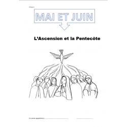 Carnet de religion mois de mai et juin