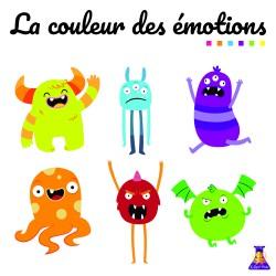 Jeu La couleur des émotions