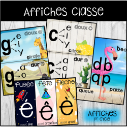 Affiches 1er cycle